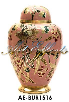 Spirit of Nature Brass Cremation Urn